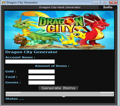 Dragon City Cheats For Gems Gold And Food Generator